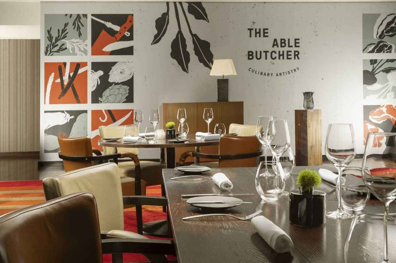 Hilton Prague hotel, The Able Butcher